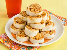 Chicken Quesadilla Pinwheels -football party food
