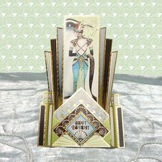 Card made using the Lovely Ladies Luxury Topper Set from the Deco Delights Collection