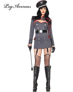 Women's Sexy General Punishment Costume | Sexy Military Halloween Costumes
