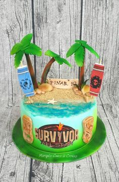 Survivor - Cake by Mariya's Cakes & Cookies