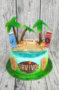 Survivor - Cake by Mariya's Cakes & Cookies