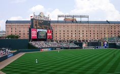 Camden Yards, Baltimore. Home of the Orioles.