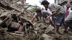 MAN RESCUED AFTER 80 HOURS IN COLLAPSED BUILDING IN NEPAL EARTHQUAKE