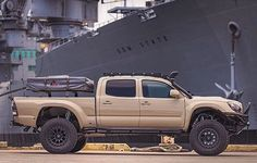 Top 8 Excellent and Powerful Toyota Tacoma Camping Pictures Gallery - Awesome Indoor & Outdoor Toyota Tacoma, Tacoma 4x4, Tacoma Truck, Jeep Truck, Toyota Tundra, Toyota 4runner, Overland Tacoma, Toyota Trucks, 4x4 Trucks