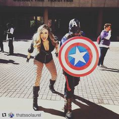 Captain America   Credit @thatssolaurel  #kamicon #cosplay #blackcanary #dccomics #captainamerica #birdsofprey #cosplayer #photoshoot #alabama #canarycry
