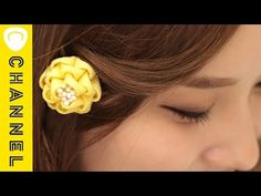 【DIY】レトロなお花の髪飾り「もこもこヘアピン」|C CHANNEL DIY - YouTube