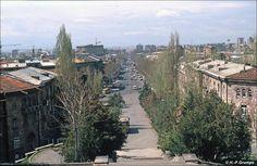 Blick vom Matenadaran auf Eriwan
