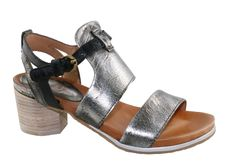 grey/ silver sandal from Mjus