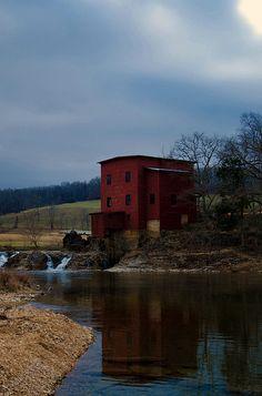 Dillard Mill State Historic Site - Missouri