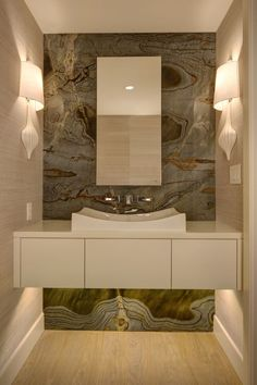 uniqueshomedesign: Powder Room charisma design