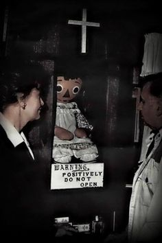 In real life The Doll from the Conjuring is a raggedy ann doll. Not the creepy doll you see in the movie.