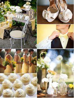 Lemon Meringue wedding inspiration