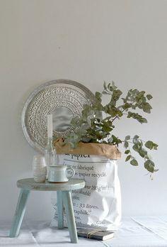 Paperbags inspiratie, je leest het op http://www.stijlhabitat.nl/paperbags/ Paperbag, inspiratie, Le sac en papier, inspiration