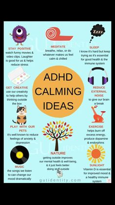 ADHD Calming Ideas