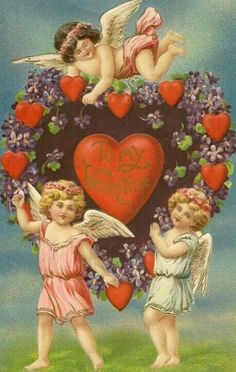 Buy Liberty Puzzles Valentine with Cherubs, a beautifully detailed wooden jigsaw puzzle. This puzzle sized by and has 259 pieces, Valentine with Cherubs, vintage Valentine print My Funny Valentine, Valentines Day Poems, Valentine Cupid, Valentine Picture, Valentine Images, Valentines Greetings, Vintage Valentine Cards, Valentines Day Hearts, Vintage Greeting Cards