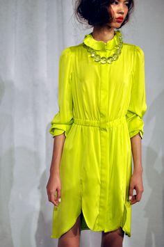 NYFW / Joy Cioci S/S 2012