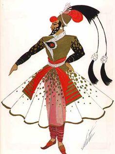 Erté's persian man