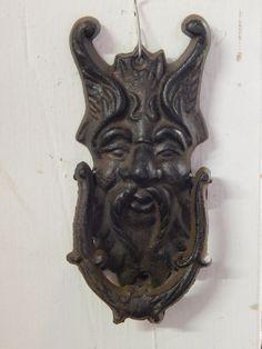 Gargoyle Griffin Gothic Face Door Knocker                                                                                                                                                                                 More