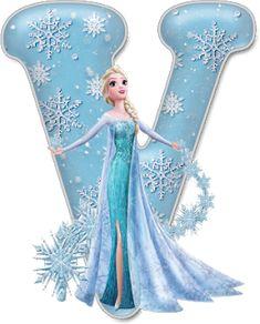 Alfabeto de Elsa con Vestido de Gala. Frozen Cupcake Toppers, Frozen Cupcakes, Diy Crafts For 5 Year Olds, Diy And Crafts, Frozen Disney, Elsa Frozen, Frozen Tea Party, Disney Font Free, Disney Fonts