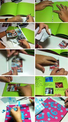 Un lbum de fotos personalizado fotos caseras lbumes de fotos y casero - Como hacer un album casero ...