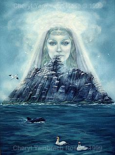 Ériu: Irish deity & personification of Ireland. Daughter of Ernmas of the Tuatha Dé Danann. Part of a triple goddess, along with sisters Banba & Fódla. Wife of Mac Gréine. Celtic Goddess, Goddess Art, Divine Goddess, Irish Mythology, World Mythology, Irish Celtic, Celtic Art, Wiccan, Folklore