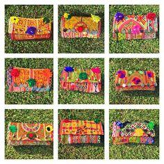 BELLA CLUTCHES #inlove #baiga #style #bella #clutch #bags #sobres #india #hindu #cool #moda #onda #super #style #fashion #stylish #wow #nice #color #summer #moda