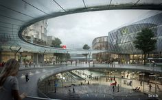 Mnevniki Masterplan, Moscow on Behance