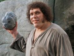 Andre the Giant (The Princess Bride) - Top 10 Movies Featuring Pro Wrestlers