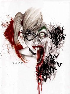 longlivethebat-universe:    Harley Quinn and The Joker by Eric Basaldua