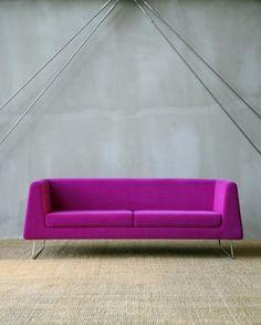 purple Jarman sofa