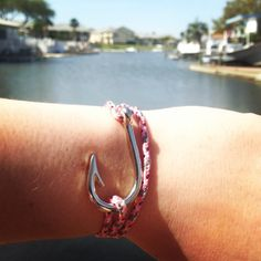 Wrap Around Fish Hook Bracelet by TailsNTines on Etsy. Follow @tailsntines on instagram for more!