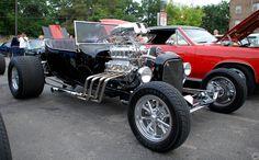 Black Hot Rod | Flickr - Photo Sharing!