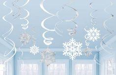 Amazon.com - Amscan Snowflake Swirl Decorations 12 Ct