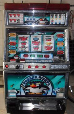 QUARTER / TOKEN PACHISLO FROZEN NIGHTS SLOT MACHINE / 285 PAGE MANUAL | Collectibles, Casino, Slots | eBay!