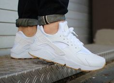 Nike Air Huarache Leather PA White Ostrich Gum post image