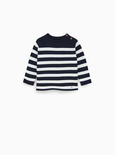 90509971eac5 Zara Kids 6 meses - 4 anos  Sweater links com decote redondo e manga  comprida