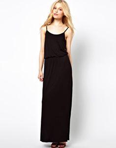 Image 1 of River Island Waisted Maxi Dress