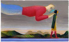 fantagraphics:  Illustration by Lorenzo Mattotti.