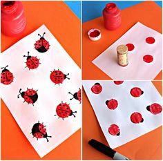 15 techniques et astuces de peinture que vous allez adorer tester avec vos  enfants 641e021e7f85