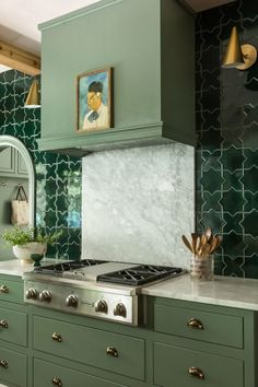 Star and Cross Kitchen by Rebecca Gibbs Design |… | Fireclay Tile
