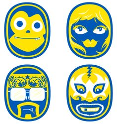 chiquita-stickers-4-up.gif 567×600 pixels