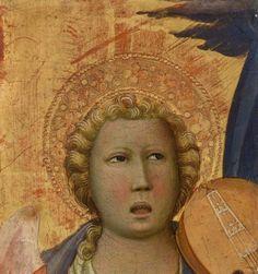 Gherardo Starnina  Head of an Angel  1404–1406  Tempera and gold on panel