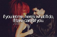 I'll take care of you boy