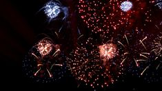 018 Colorful beautiful LED fireworks photography&video background video material for video producer