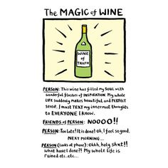 Edward Monkton Coloured Cards : The Magic of Wine Edward Monkton, Perfect Sense, Describe Me, Text Me, Everyone Knows, Stand By Me, The Funny, Funny Quotes, Wisdom
