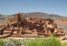Wupatki National Monument--Flagstaff AZ Indian Pueblos