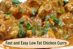 This healthy curry chicken recipe is not only good for you, it's also versatile and easy to prepare. Includes links to other fast and easy chicken recipes.