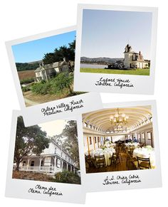 Gorgeous Norcal wedding venues. I am OBSESSED with planning weddings, parties and events....
