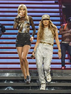 Pin for Later: Jennifer Lopez Has Found the Fountain of Youth at 45 And she even upstaged Taylor Swift at a Taylor Swift concert.