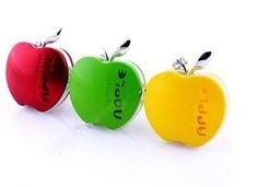 Car freshener it think that the plastic apple shape contains fragrance gel that is diffused through holes when it get warm.